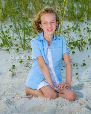 Gulf Shores family beach portraits Alabama