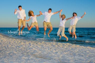 Alabama Gulf Shores family beach portraits