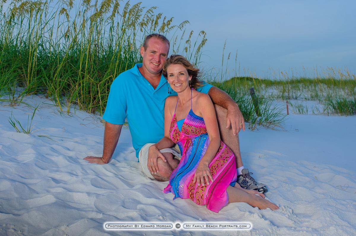 At The Beach In Orange Beach Alabama