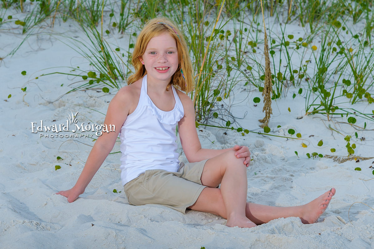 Gulf Shores family beach portraits services
