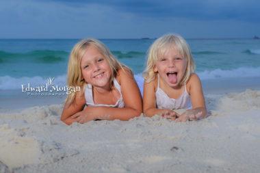 Fort Morgan Family beach portraits pix beach