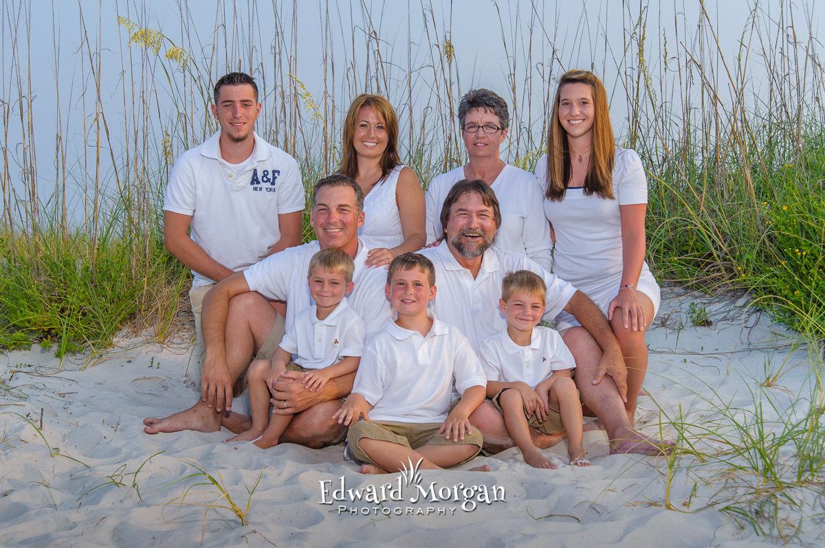 Orange Beach family reunion beach photos 2