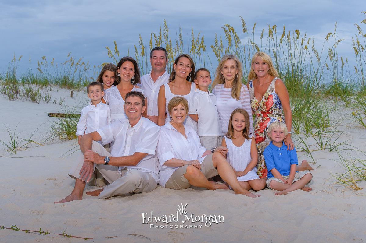 Orange Beach family reunion beach photos 1