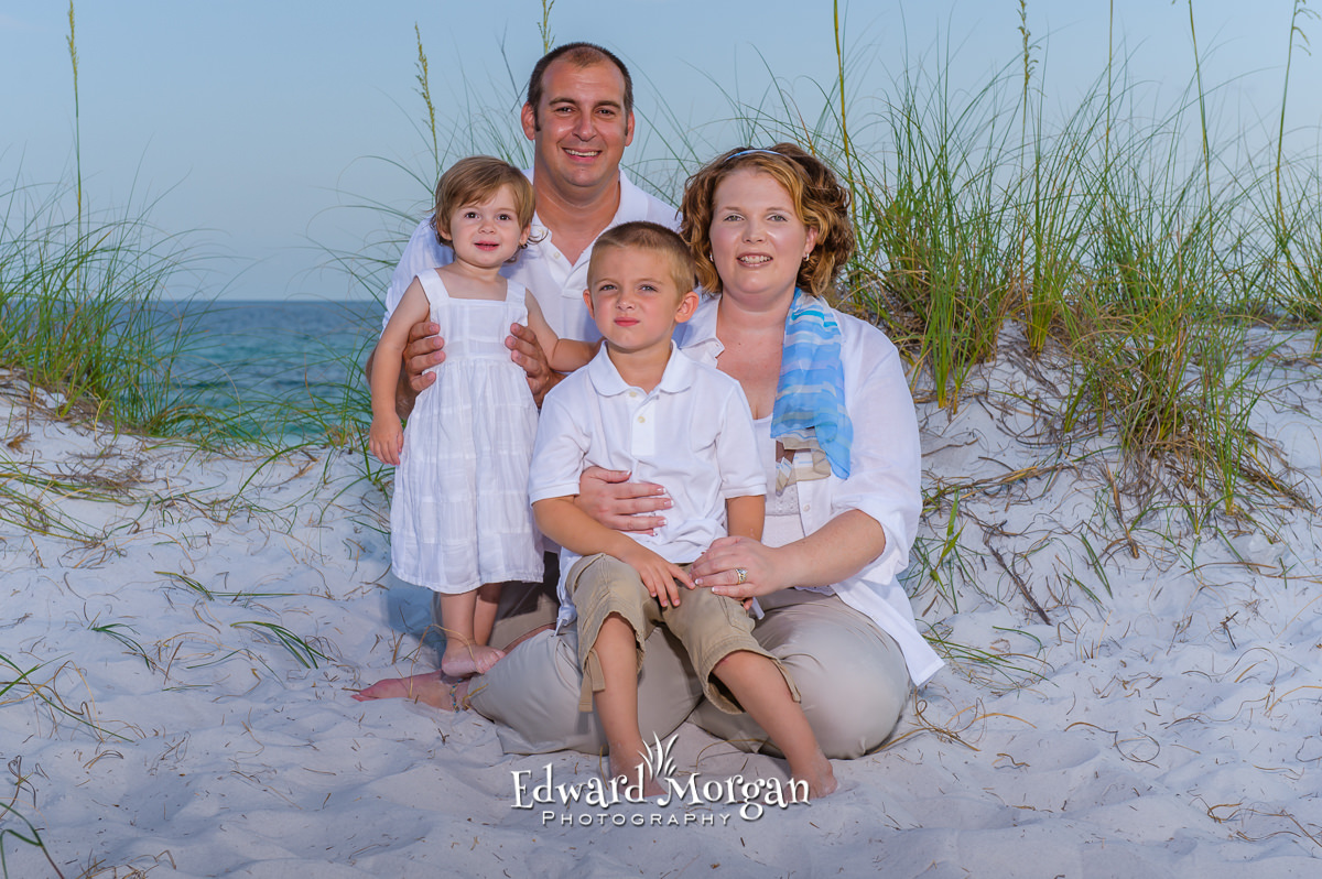 Pensacola family beach portrait photographer