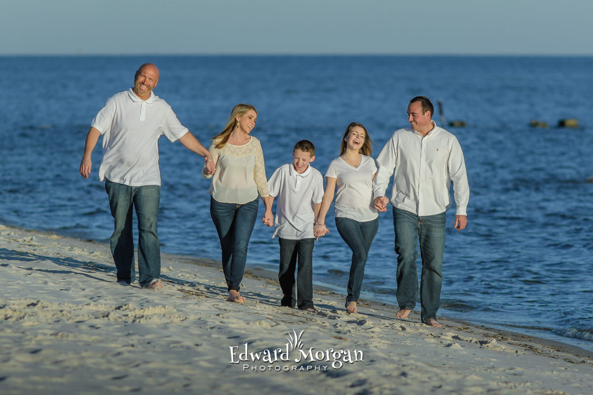 Alabama Orange beach family beach portraits 1