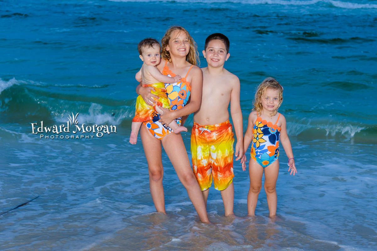 Navarre family beach portraits kids photography 7
